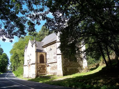 Chapelle des Geeks ( vue du coté Saint Jean-de-Boisseau)