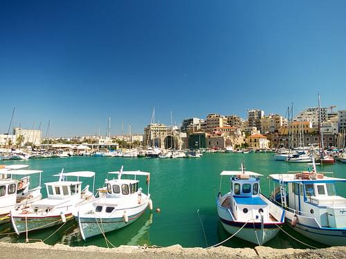Inner harbour of Heraklion (Ηράκλειο)