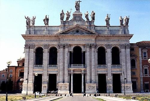 Facade of Basilica di San Giovanni in Laterano