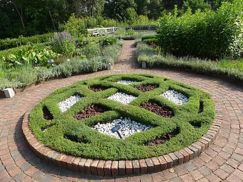 24 - Knot Garden, Matthaei Botanical Gardens, Ann Arbor