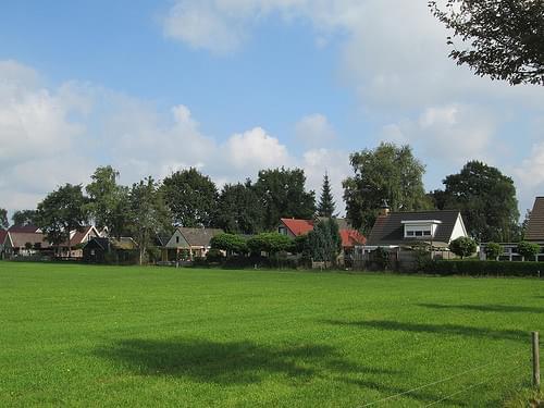 Woningen op voormalig kamp Beugelen Staphorster Diekloop 2014