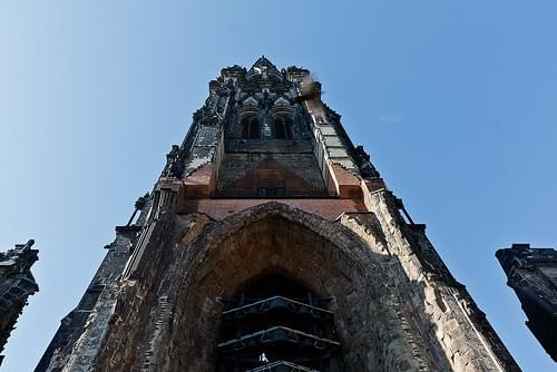 Saint Nikolai (the bombed cathedral) - Hamburg