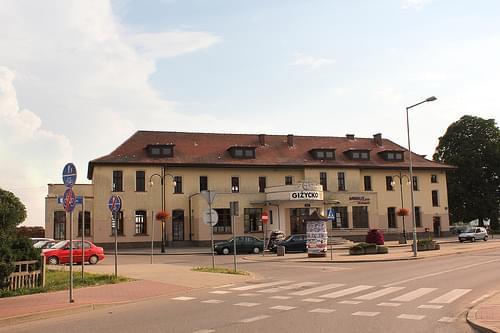 Gizycko railway station