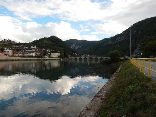 Mehmed Paša Sokolović Bridge in Višegrad, Republika Srpska, BiH
