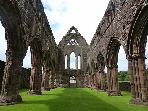 Sweetheart Abbey, Cistercian abbey of Dulce Cor