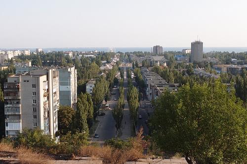City view Berdyansk, Ukraine
