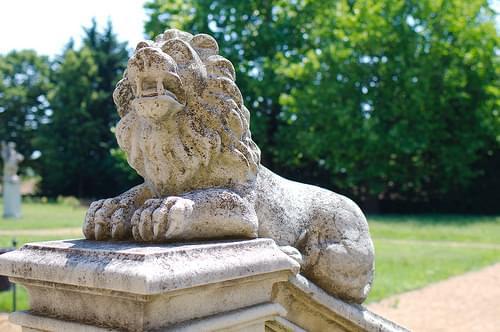 lion of Nagytétény