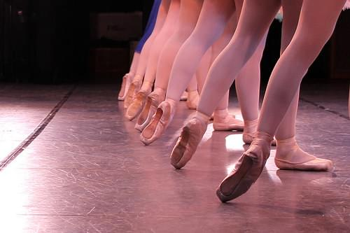 Ballet stage lighting