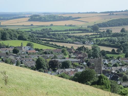 Cerne Abbas: Giant Hill (Dorset)