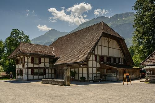 Swiss open-air museum Ballenberg
