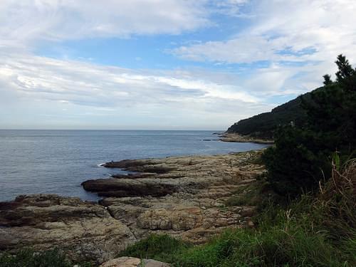 Craggy Coastline Igidae Park Corea