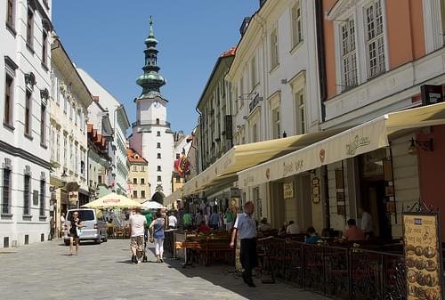 Michael's Gate (Michalská brána) Bratislava