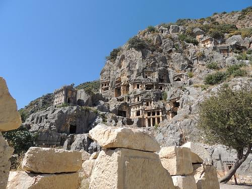 Lost city of Myra, near Demre, Turkey