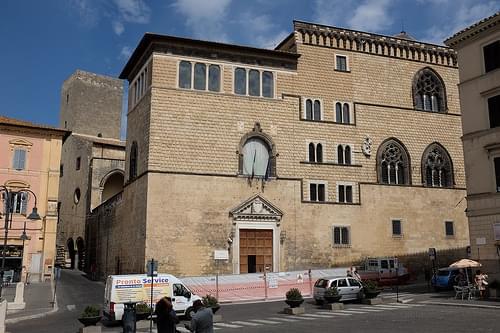 The Palazzo Vitelleschi in Tarquinia