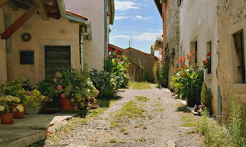 Village of Štanjel, Slovenia