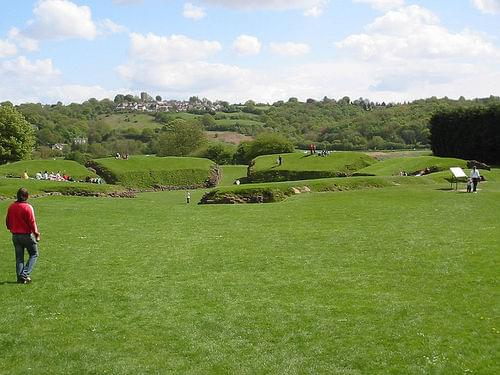 Caerleon Roman amphitheater