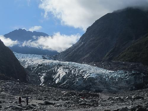 Fox Glacier 02 - Close-up