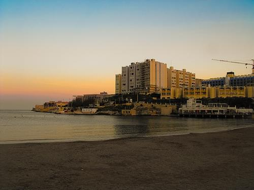 St. George`s Bay (St. Julians, Malta)