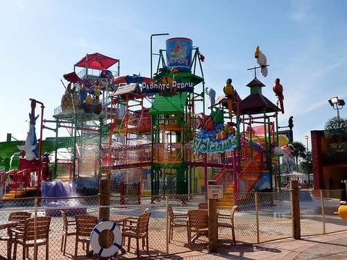 Splash play area