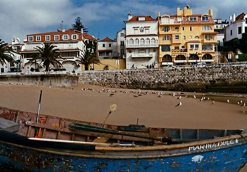 On Cascais Beach