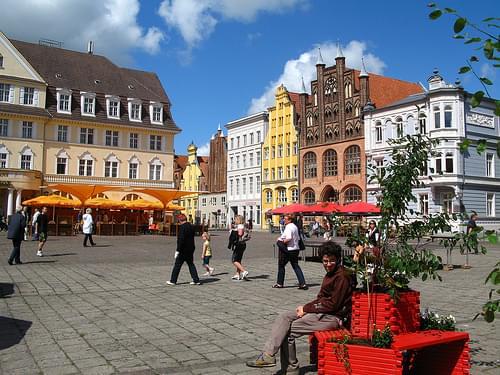 Stralsund Markt