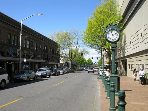 Olympia Street Clock