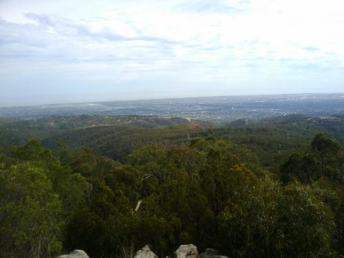 mt. lofty lookout