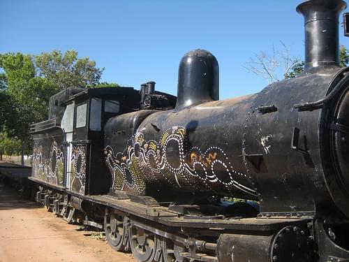 Disused Locomotive