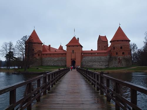 Bridge and Castle of Trakai