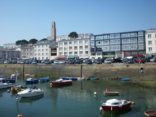 Le quai de la Douane du Port de Commerce  (Brest)