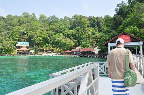 Pulau Payar Diving Day : Arriving at Pulau Payar Marine Park