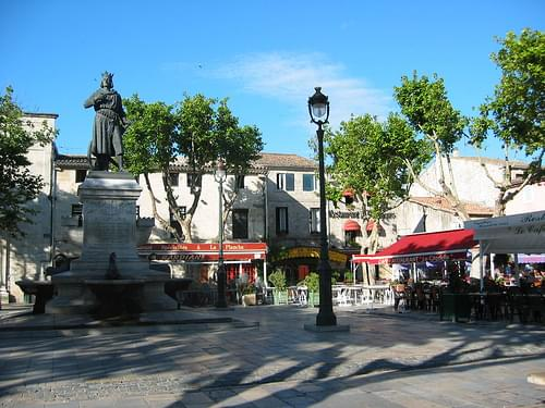 Place St. Louis, Aigues Mortes