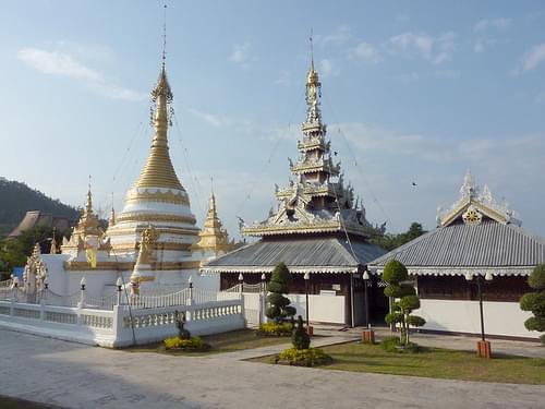 Wat Chong Klang, Mae Hong Son, Thailand