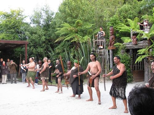 Maori Performers, Tamaki Maori Village, Rotorua