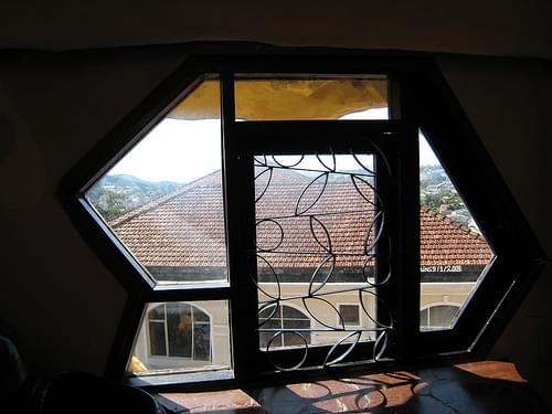 Beautiful window at Dalat Crazy House