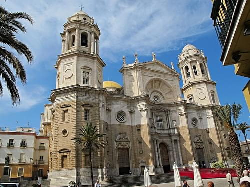 Grand Cadiz Cathedral, Cadiz, Spain