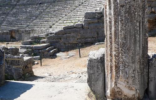 Teatro de Dodona I (detalle)