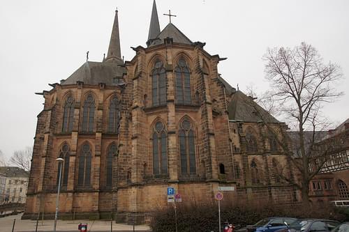 2010-03-12 Marburg, Elisabethkirche 021