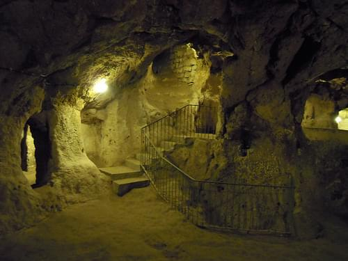 Underground city in Derinkuyu