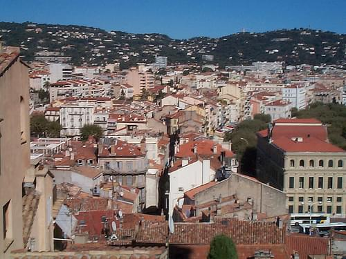 Rooftops of old Cannes