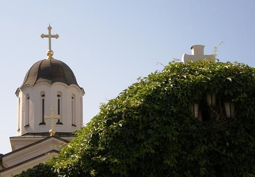 Bijeljina, St. Basil of Ostrog Monastery, Spring 2010
