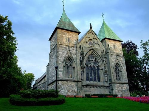 Норвегия. Ставангер. Старейший в Норвегии собор Domkirke
