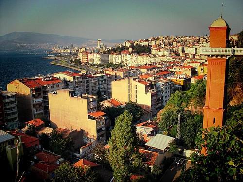 Asansor (Elevator) & Izmir, Turkey