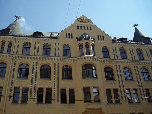 Riga Latvia 292 cat house