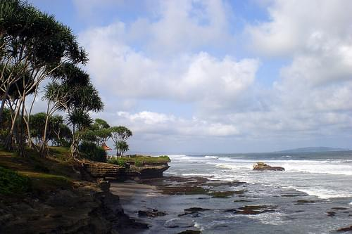coast near Pangandaran