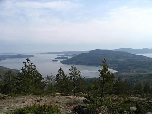 Skuleberget, High Coast, Sweden