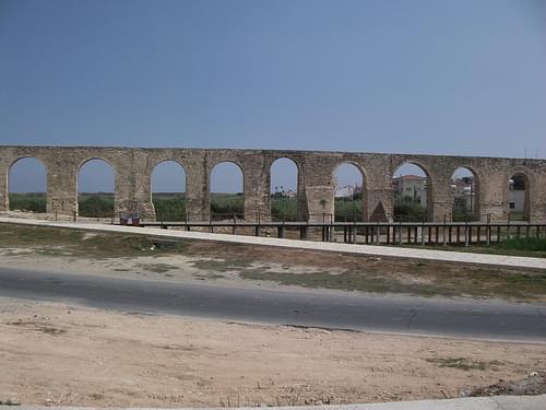 Kamares Aqueduct at Larnaca