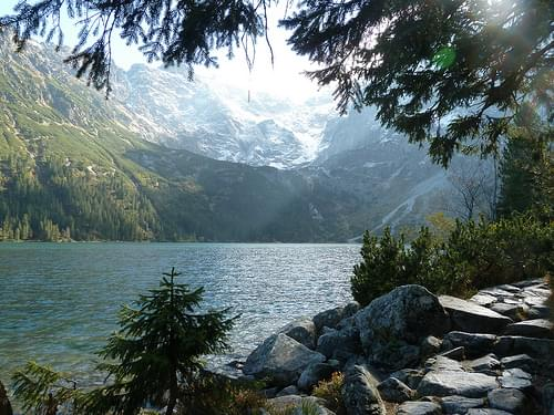 Morskie Oko i Tatrafjellene