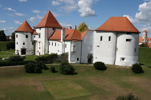 Varazdin's old castle.