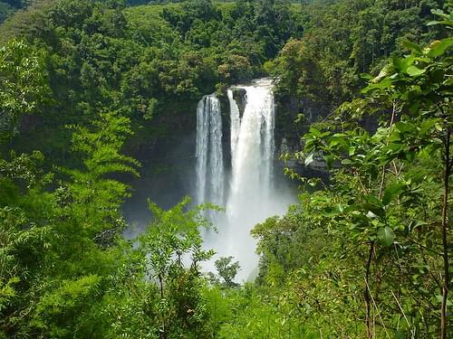 Nam Tok Katamtok Waterfall,  Bolaven Plateau, Laos